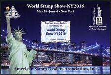 Grenadines - 2016 New York World stamp show Souvenir sheet of 1 stamp MNH