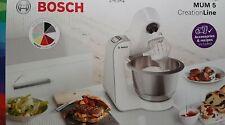 Bosch MUM58L20 Creation Line Robot de Cuisine,Bol 3,9l, Gris / Argent - Neuf Ovp