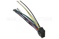 WIRE HARNESS FOR ALPINE CDA-117 CDA117 *PAY TODAY SHIPS TODAY*