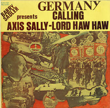 """""""GERMANY CALLING"""" Barry Sadler presents AXIS SALLY - LORD HAW HAW (LP 33t US) NM"""