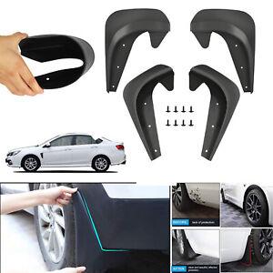 4pcs Universal Car Mudguards Fender Front / Rear For Most vehicles Auto parts