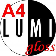 115 GSM A4 X 500 Hojas Glossy 2 Lados Papel De Impresora-Laser-Digital-Craft