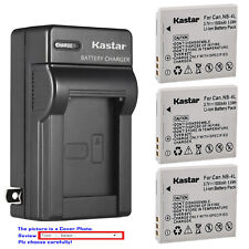 Kastar Battery Wall Charger for Canon NB-4L NB-4LH & Canon PowerShot ELPH 100 HS