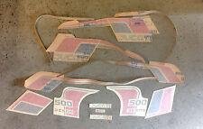 Ducati Pantah 500 SL kit completo decals originale spedizione gratuita