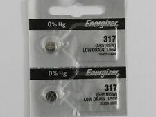 Energizer  317 SR516SW Button Cell Silver Oxide Watch Battery, 2Pcs