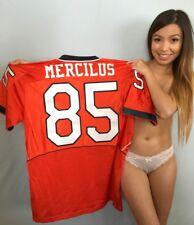 Whitney Mercilus Illinois authentic Nike stitched orange throwback L jersey NEW
