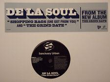 """DE LA SOUL - SHOPPING BAGS / THE GRIND DATE (12"""")  2004!!!  RARE!!!  MADLIB!!!"""