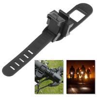 Rotation Torch Clip Mount Bike Bicycle Front Light Bracket Flashlight Holder