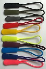 10 pack Mix Color Cord Zipper Pull Strap Lariat Black For Apparel Accessories