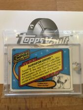 Esb Star Wars Slick Stock Proof Card Topps Vault Coa Surgeon Droid