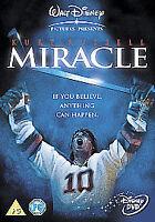 Miracle (DVD, 2005) Walt Disney Kurt Russell Original Very Rare UK