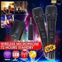 Professional UHF Wireless Microphone System Handheld / Headset Mic  ☆