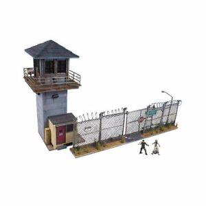 Adorable Figures Setup Prison Tower & Gate Building Set The Walking Dead Diorama