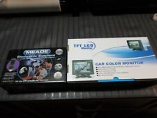 """Meade Electronic Eyepiece for Telescope and 5"""" TFT LCD Monitor NEW"""