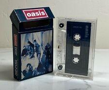 Oasis Unplayed Cigarettes & Alcohol Cassette Single 1994 Flip Top Box CRECS 190