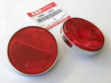 2x Genuine Suzuki side signal REAR TAIL REFLECTOR oem gs1000 gs850 gs 1000 850