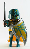 Playmobil Green Knight Warrior w/ Sword Shield Helmet Mystery Series 13 9332 NEW