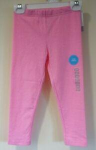 BNWT Carter's Pink Capri Leggings Girl's Size 6/6X
