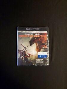 Monster Hunter 4k + Blu-ray No Digital Copy, Lot D4.