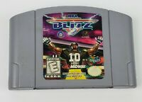 NFL Blitz Nintendo 64 N64 Game Cartridge Only Authentic Tested