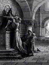 Gustave dore pour la défense du christ dore old master art painting print 1197OM