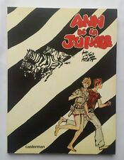 BD - Ann de la jungle / EO 1978 / HUGO PRATT / CASTERMAN