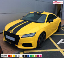 Front Decal Sticker Vinyl Full Stripe Kit for Audi TT Mk3 Drink Holder Floor Mat
