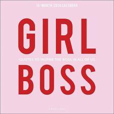 Girl Boss Calendar 2020 Square Wall 30 x 30cm