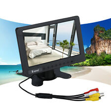 "7"" inch Color Mini Camara Car TV Vídeo LCD Monitor BNC AV CVBS With Speaker HOT"