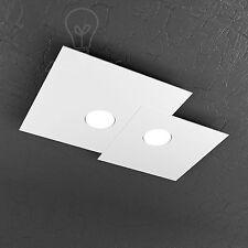 Plafoniera rettangolare Top Light modello Plate 1129/pl2 R