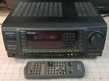 Aiwa AV-X100 Digital Audio System Video Surround Sound Receiver + OEM RC-6AR02