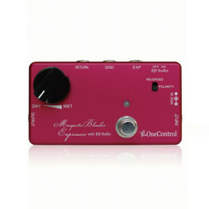New One Control Mosquite Blender Expressio with BJF Buffer Guitar Effects Pedal