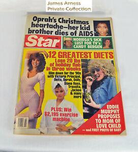 "James Arness Marshal Dillon Gunsmoke 1990  ""Star "" Magazine"