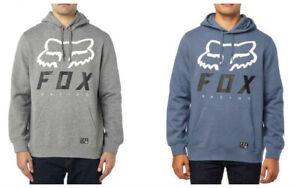 Fox Racing Men Heritage Forger Fleece Pullover MTB Hoody Jumper Sweatshirt S-2XL