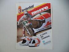 advertising Pubblicità 1990 CASCO HELMET BIEFFE CHESTERFIELD SCOUT
