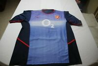 "Camiseta FUTBOL ARSENAL FC 2002-2004 Away NIKE ""gunners"" ""L"" size"