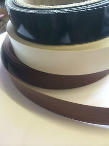 Iron On Edging Tape Various Colours, Pre-glued suitable approx 22mm - can be cut
