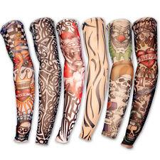 Manga de Tatuaje Tattoo Postiza Manga con Tatuaje elástico (LOTE 6)
