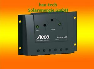 Steca Solsum 6.6F Solar Laderegler für Wohnmobil Camping Inselanlage