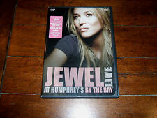 Jewel - Live At Humphrey's By The Bay (2004) DVD w/ Bonus You Were Meant For Me
