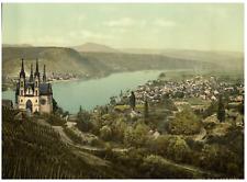 Ahrtal. Remagen. PZ vintage photochromie, Deutschland photochromie, vintage ph