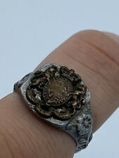 WW1 Mens British Army General Service Corps Aluminium Trench Ring