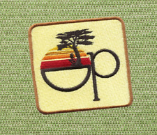 Vintage 80's Style OP Surfing Surfer Shirt Patch Badge 8cm