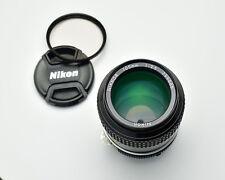 Nikon NIKKOR 105mm f2.5 Ai Short Telephoto Lens Caps Filter Portrait (#3142)