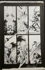 Marvel Zombies Destroy Original Comic Art Page signed pg 18