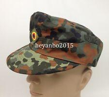 WW2 GERMAN ARMY FLECKTARN CAMO MILITARY CAMOUFLAGE FIELD CAP HAT SIZE 58