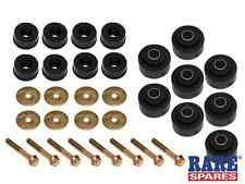 HOLDEN BODY MOUNT KIT HQ HJ HX HZ WB SED, ST WAGON & COUPE BOLTS INCLUDED BMK1A
