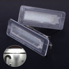 2x LED Kennzeichen Beleuchtung für Smart Fortwo Coupe Convertible 450 451