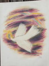 Reuven RUBIN - Lithographie lithograph signée EA 1972 visions of Bible judaica *