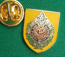 Argyll and Sutherland Highlanders on Shield Lapel Pin badge in Pouch Gift Idea